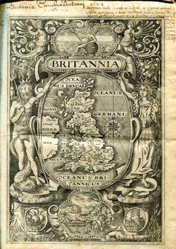CAMDEN, William. Britannia, sive Florentissimorum Regnorvm Angliae, Scotiae, Hibernia.