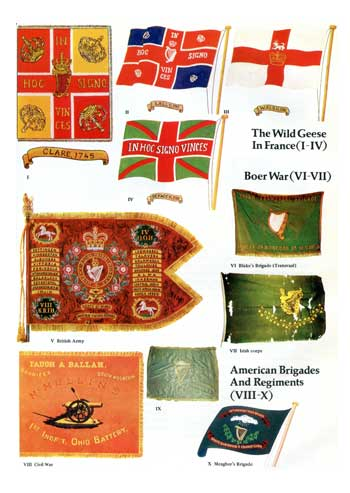 A History of Irish Flags from earliest times.