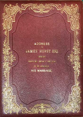 Illuminated Address to James Hurst, Esq.