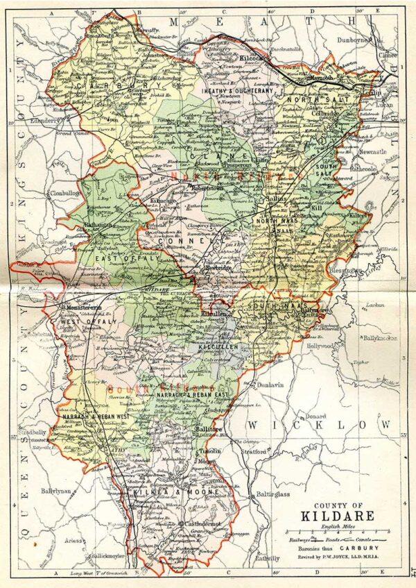 JOYCE, P.W. Philips' Handy Atlas of the Counties of Ireland.