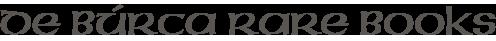 De-Burca-Rare-Books-Logo