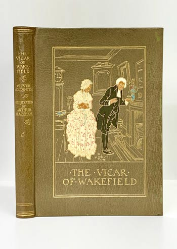 GOLDSMITH, Oliver. 'The Vicar of Wakefield y. Illustrated by Arthur Rackham.