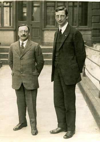 Original Large Photograph of Arthur Griffith and Éamon de Valera.