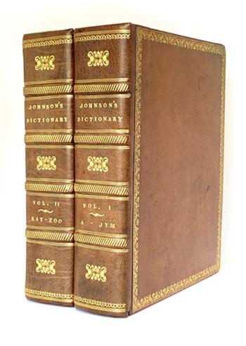 JOHNSON, Samuel. A Dictionary of the English Language.