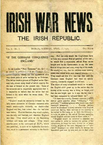 [IRISH WAR NEWS] Irish War News.