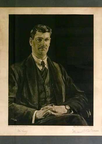ortrait prints of Michael Collins and Arthur Griffith