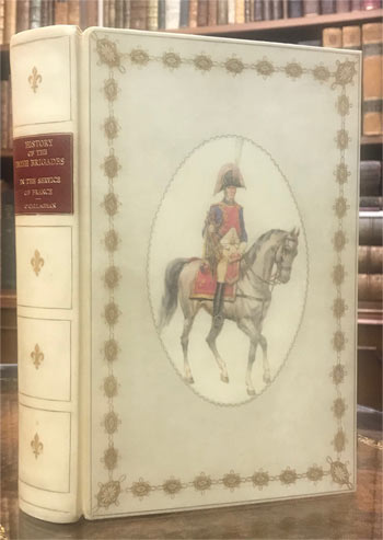 O'CALLAGHAN, John Cornelius. HAND-PAINTED VELLUM BINDING SIGNED BY THE BINDER - PADDY KAVANAGH.