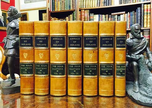 O'DONOVAN, John. Ed. by. - Annals of the Kingdom of Ireland by the Four Masters.