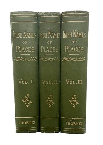 JOYCE, P.W. Irish Names of Places.
