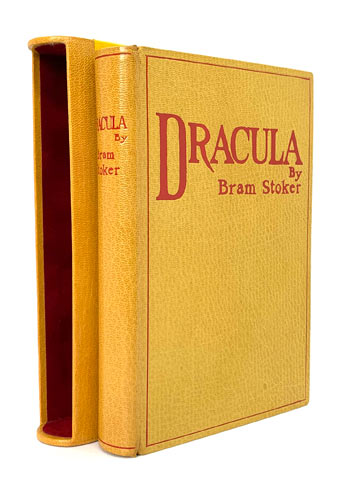 Dracula: STOKER, Bram, True First Edition.
